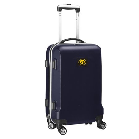 Iowa Hawkeyes 21u0022 8-Wheel Hardcase Spinner Carry-On - Navy