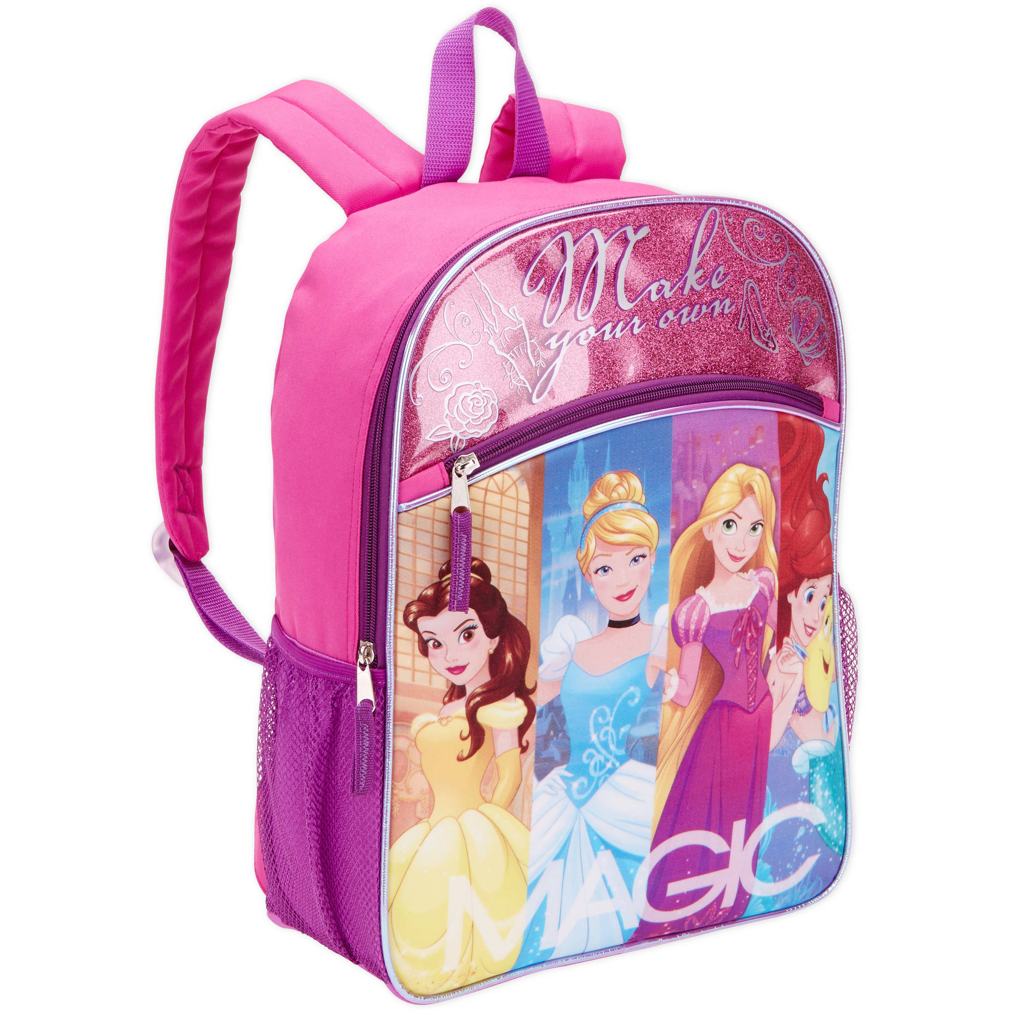 "16"" Disney Princess Full Size Backpack"