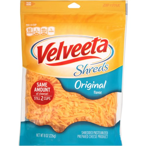 Velveeta Shreds Original Flavor Cheese, 8 oz