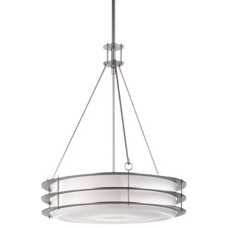 Philips Forecast Hollywood Hill 3-Light Pendant in Metallic Silver