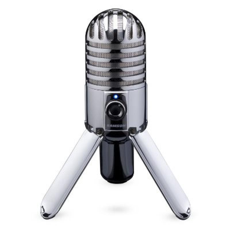 Samson Meteor Mic USB Studio Microphone (Chrome)