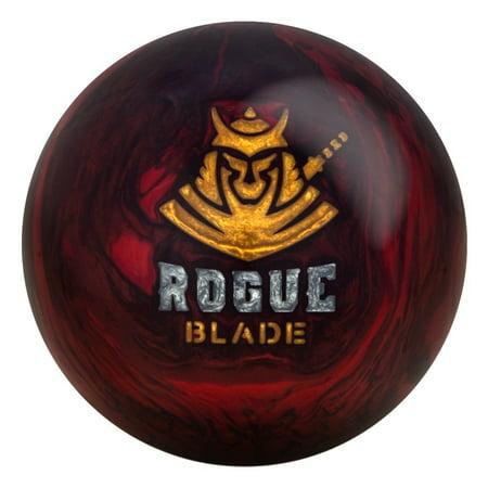 Motiv Rogue Blade Bowling Ball - Red/Black 14lbs ()