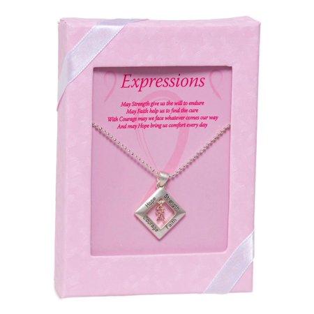 Pink Ribbon Expressions Pendant