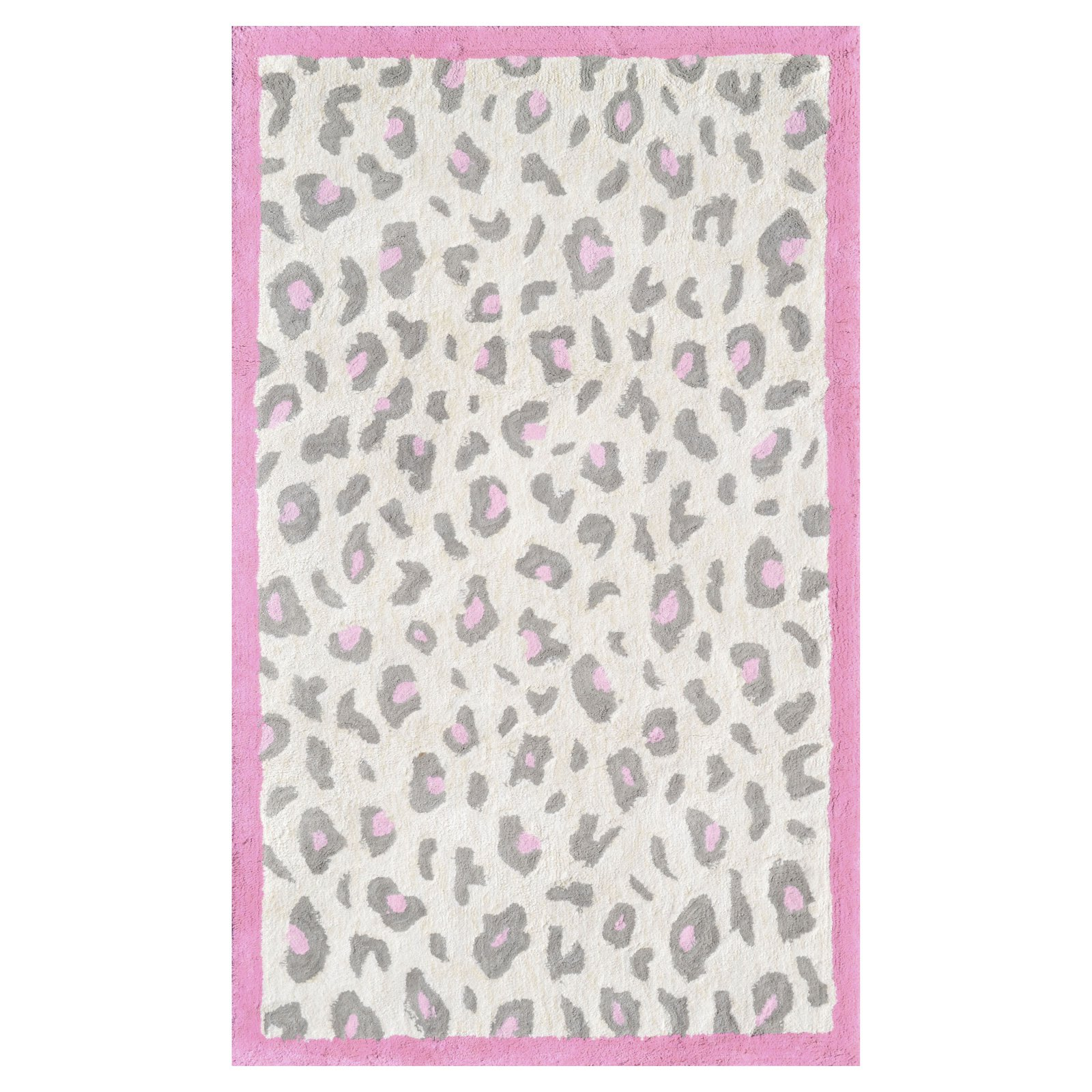 The Rug Market Cheatico Pink Area Rug, Size 2.8' x 4.8'