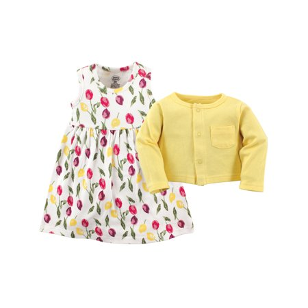 Girls Maxi Dress Size 5 (Dress & Cardigan, 2pc Outfit Set (Baby)