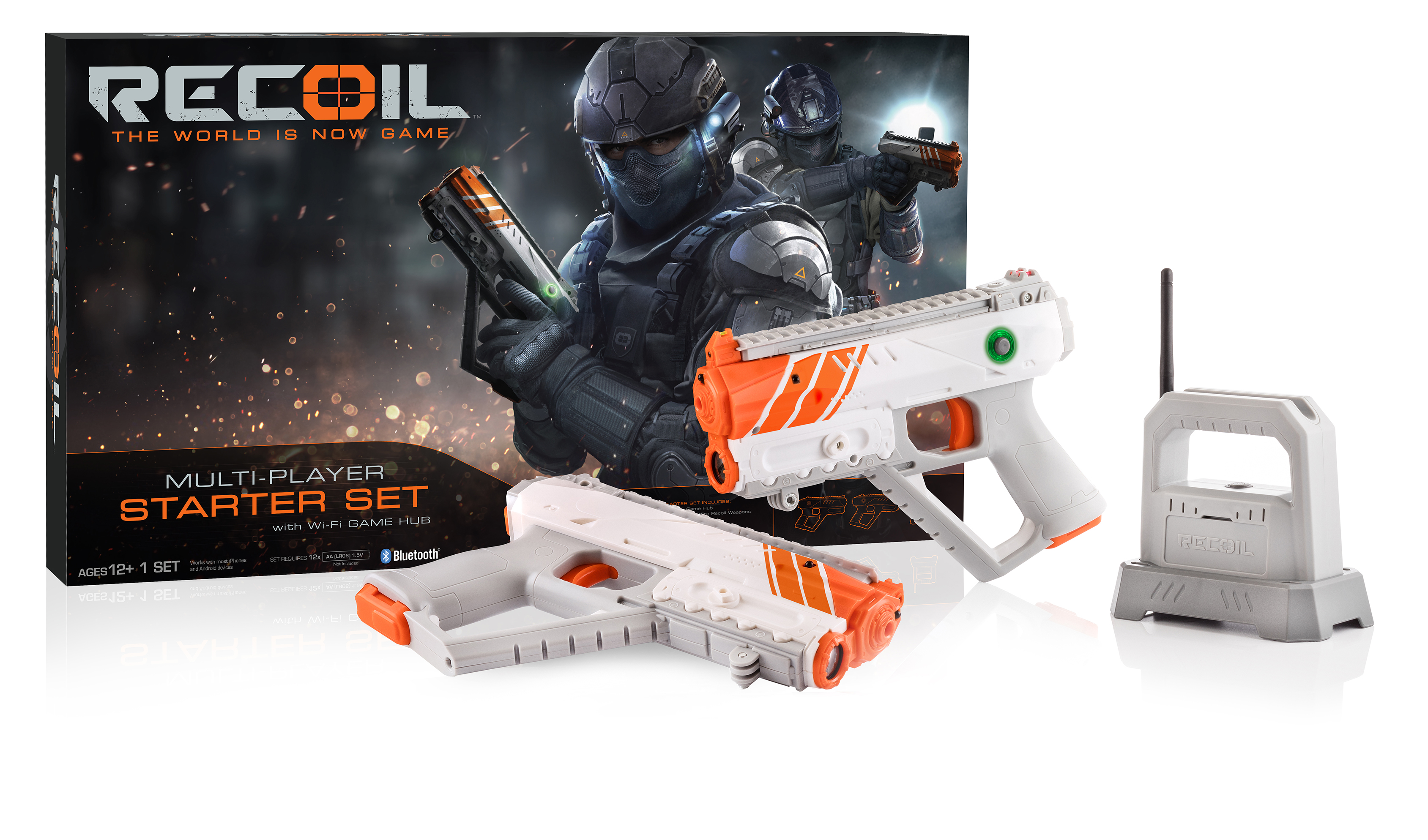 Recoil Laser Combat Two Player Starter Set
