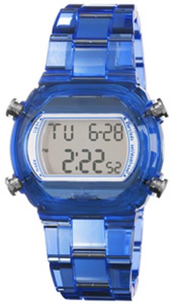 Adidas ADH6507 Candy Blue Plastic Bracelet with 44mm Digital Watch New In Box by Adidas