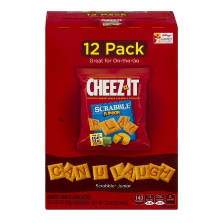 Cheez It Scrabble Junior   12 Pk  1 02 Oz