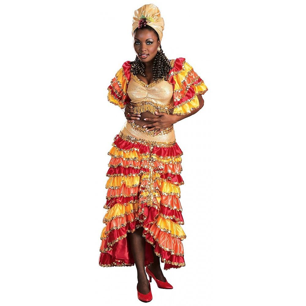 Rubie's Regency Deluxe Rumba Girl Adult Costume - Medium
