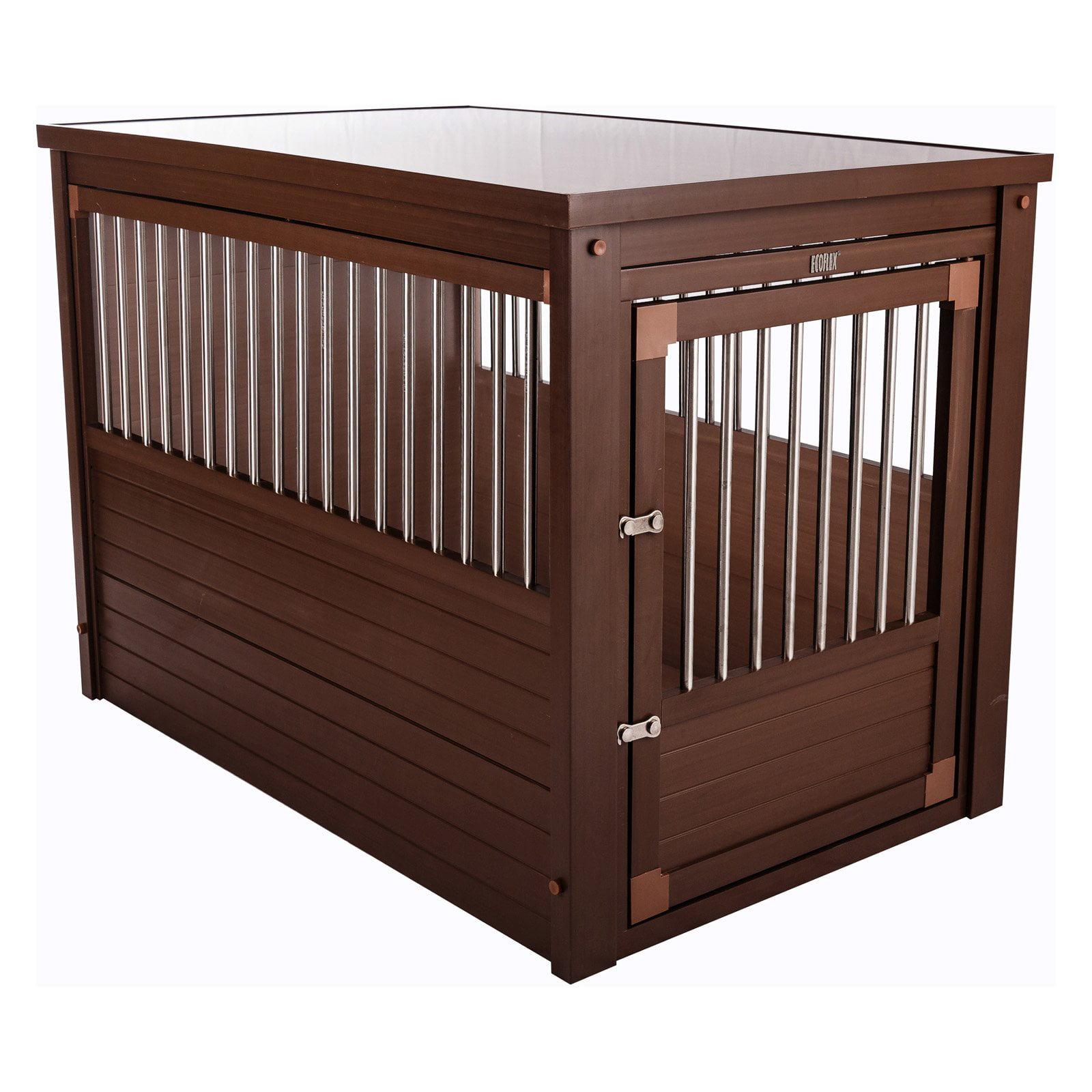 New Age Pet EcoFlex Habitat-n-Home InnPlace Pet Crate/Table - Russet