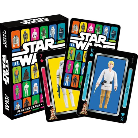 Star Wars Vintage Kenner Action Figures Playing Cards ()