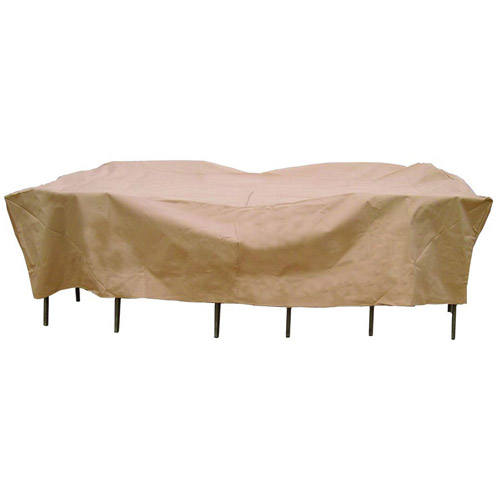 Sure Fit Original Rectangle Table Chair Set Cover Taupe