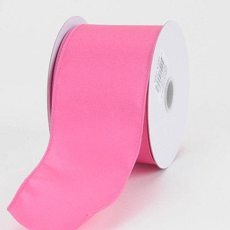 BBCrafts 2-1/2 inch x 10 Yards Thick Wired Edge Satin Ribbon Decoration Wedding Party (Hot Pink), Ship in 1 Business Day. By Generic - Pink Ribbon Fundraising Ideas