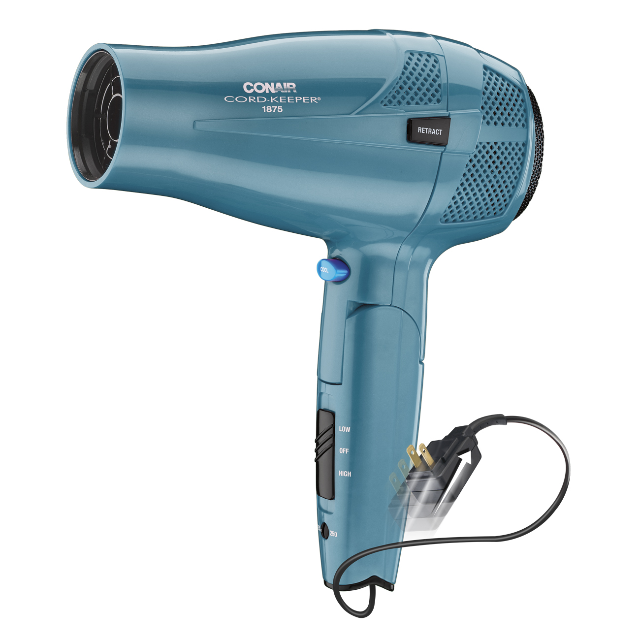 Conair 1875 Watt Cord-Keeper Hair Dryer, 289TPR