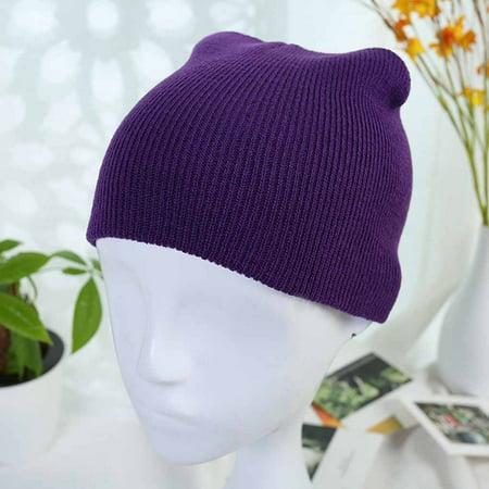 f92ca06e42b BONRICH - Newborn Baby Knitted Crochet Beanie Hat Boy Girl Winter Warm Kids  Cap Toddler Ski Skull Hat - Walmart.com