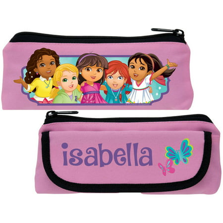 Personalized Dora and Friends Butterfly Fun Pink Pencil Case - Personalized Pencil Case