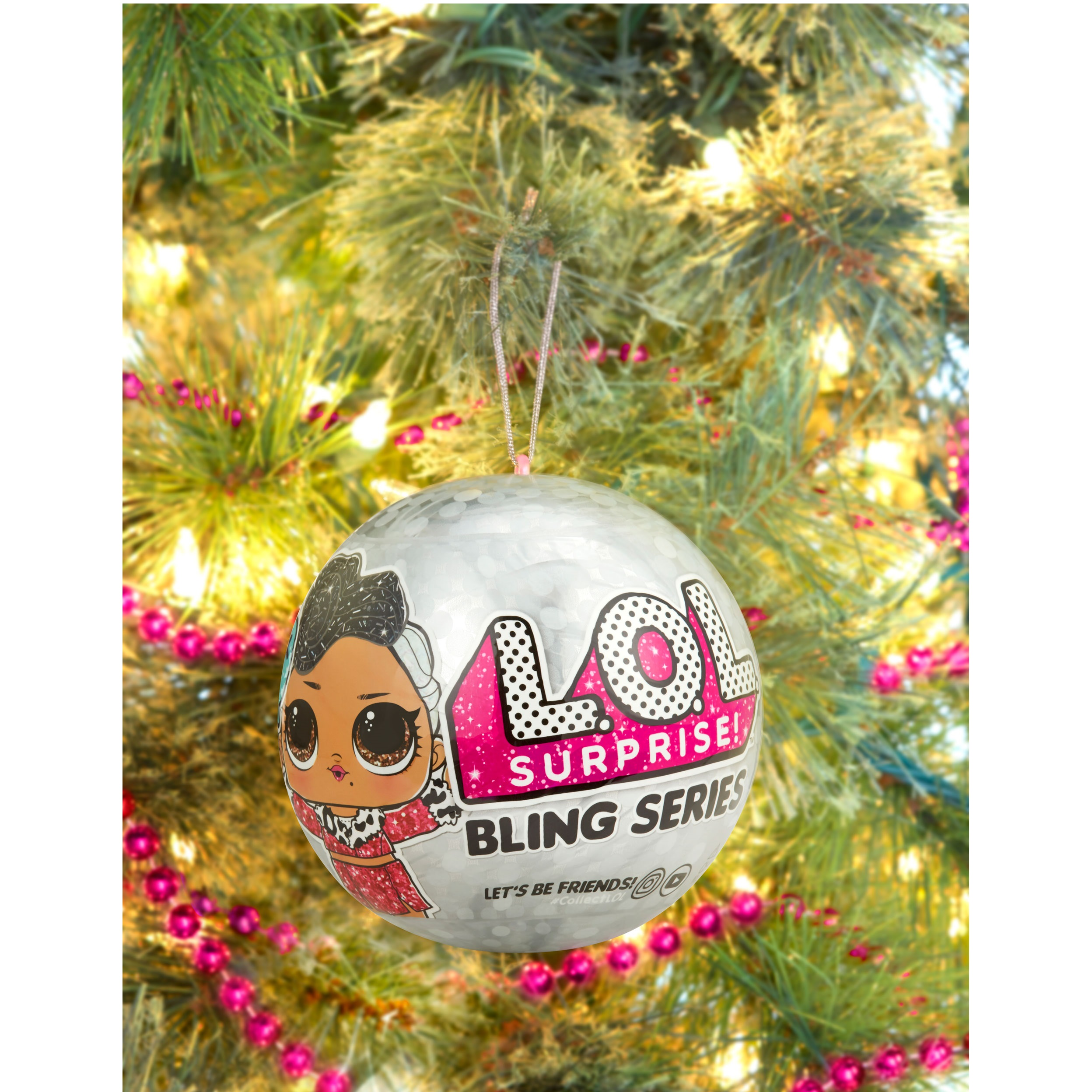 4ad02251 L.O.L. Surprise! Bling Ball Series with 7 Surprises - Walmart.com