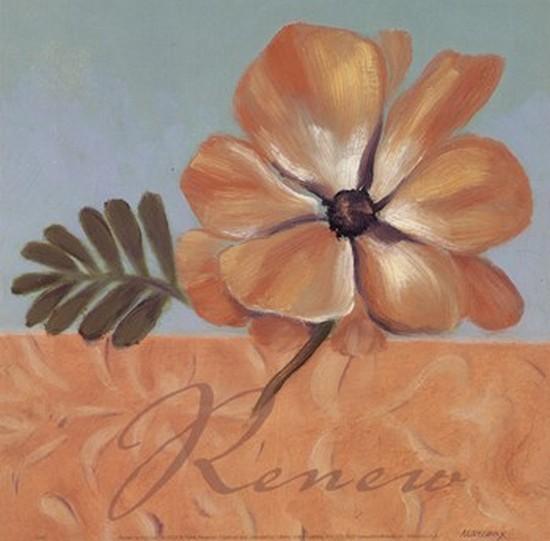 Renew Poster Print by Julianne Marcoux (8 x 8)