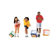 Sportime MoveCubes with BodyMoves Activity Guide, Set of 3