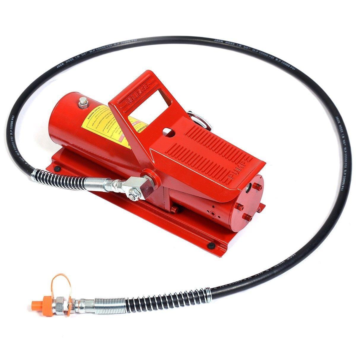 10 Ton Porta Power Hydraulic Air Foot Pump Control Lift Replacement