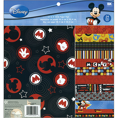 EK Success Disney Paper Pad, Mickey