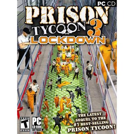 PRISON TYCOON 3: LOCKDOWN PC CD - Country Club or Billy Club? How tough  will you be?