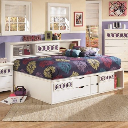 Signature Design By Ashley Furniture Zayley Captain S Bed In White