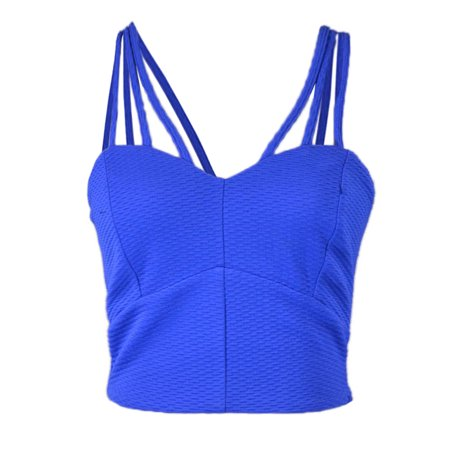 Glam Skirt Suit (Lush Sporty Glam Triple Spaghetti Sweetheart Neckline Bustier Bra Crop Top)