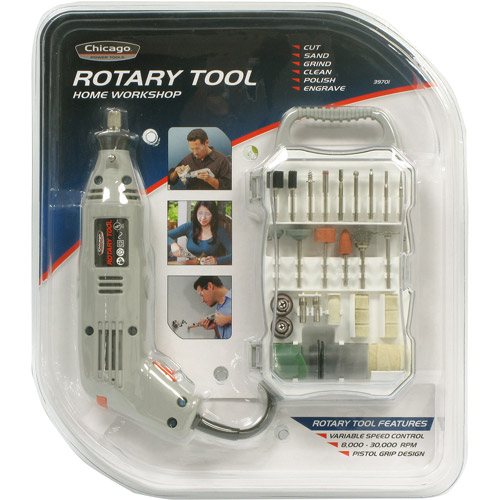 Allied Tools 72-Piece Rotary Tool Set