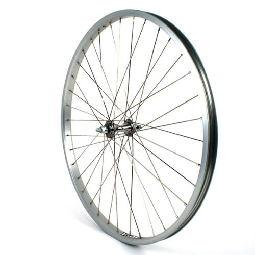 Sta-Tru 26 inch Cruiser Front 26 x 1.75/2.125 SS-Spoke Bicycle Wheel - FW2675ASS