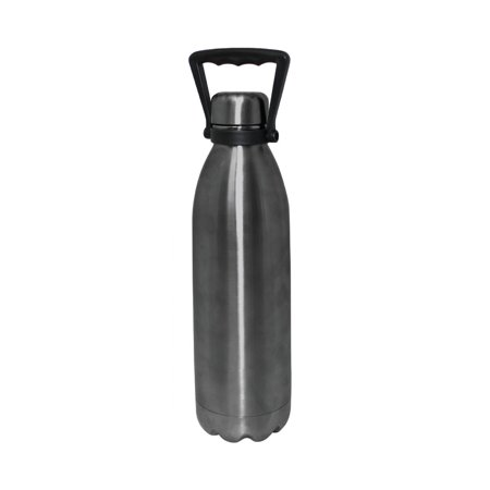 Handle Stainless Steel Liner Lock - 51oz Double Wall Stainless Steel Growler Vacuum Bottle with Handle