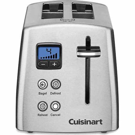 Cuisinart 2-Slice Compact Metal Toaster CPT-415