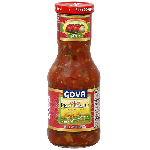 Goya Mild Mexican Salsa, 17.6 oz (Pack of 12)