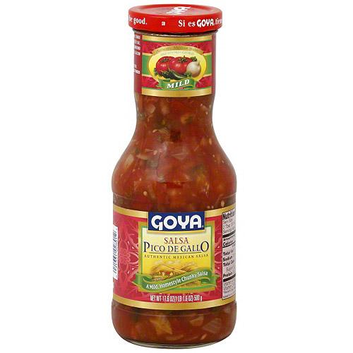 Goya Mild Mexican Salsa, 17.6 oz (Pack of 12)