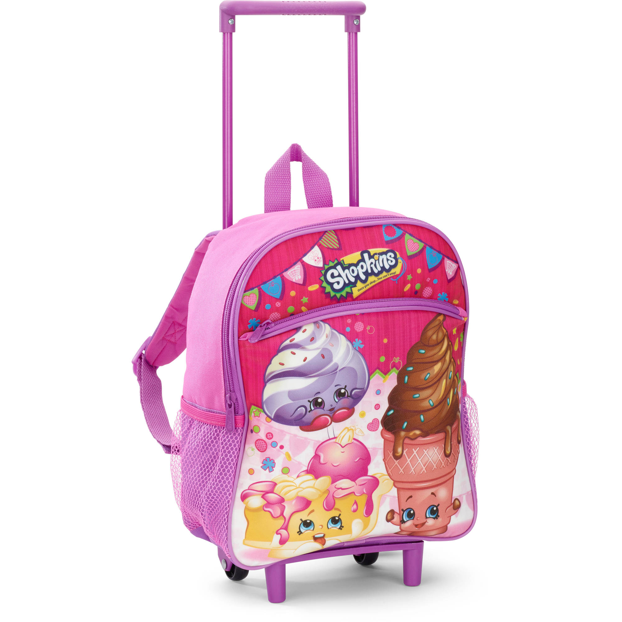 Shopkins 12 Inch Rolling Backpack
