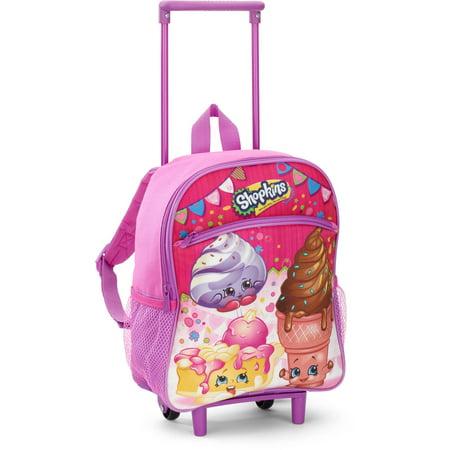 Shopkins 12 Inch Rolling Backpack - Walmart.com
