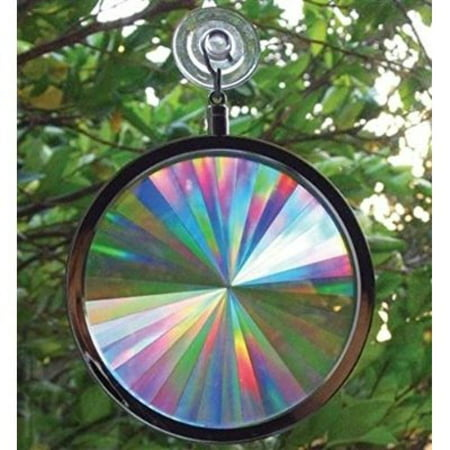 Suncatcher - Rainbow Axicon Window Sun Catcher (Stained Glass Butterfly Suncatcher)