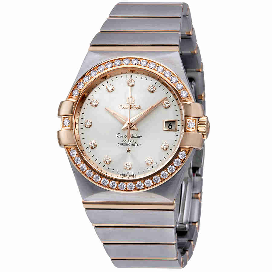 Omega Constellation Silver Dial Ladies Watch 123.25.35.20...
