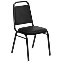 Bowery Hill Banquet Stacking Chair in Black