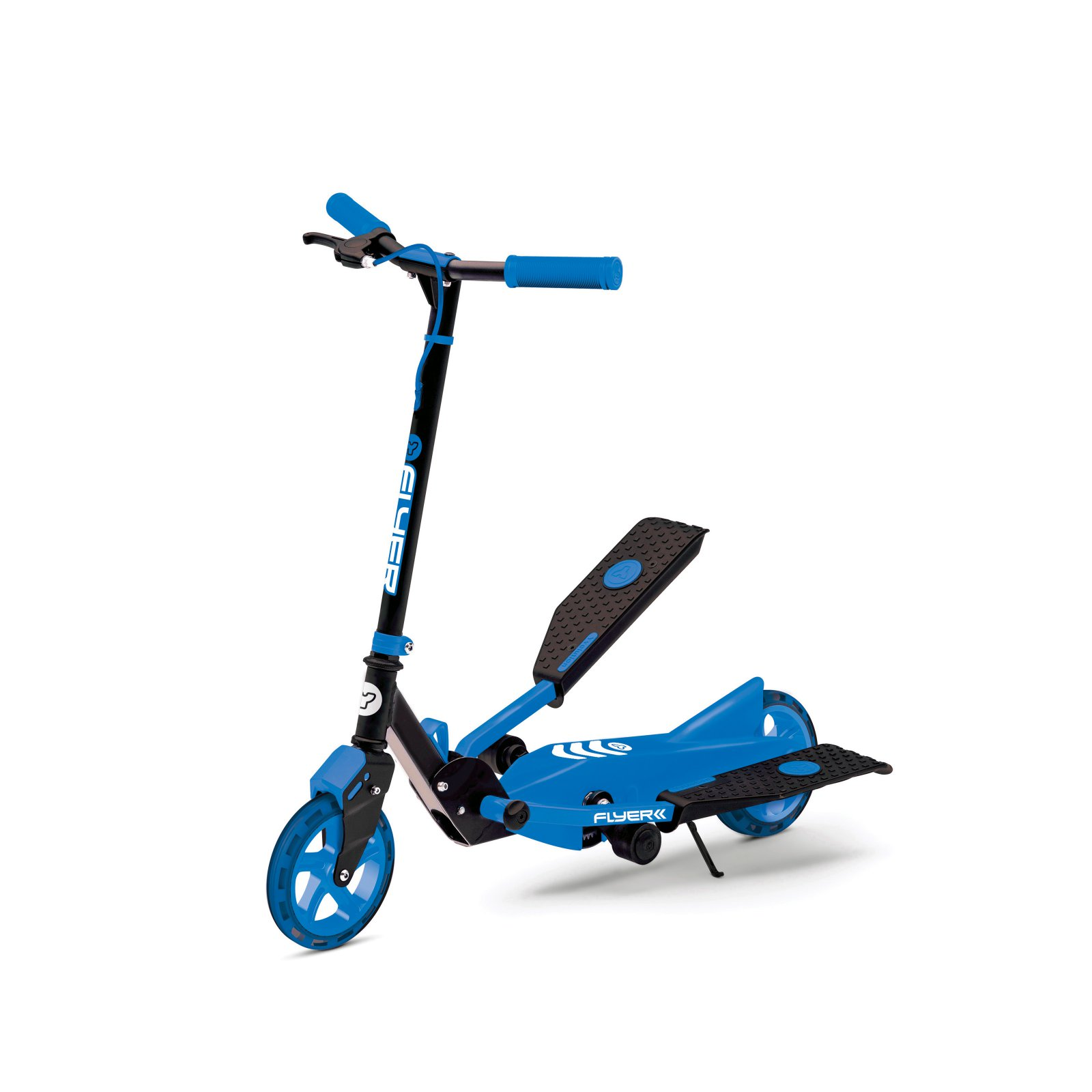 Yvolution 100739 Y Flyer Kids Childrens Youth Stepper Scooter for Ages 7+, Red
