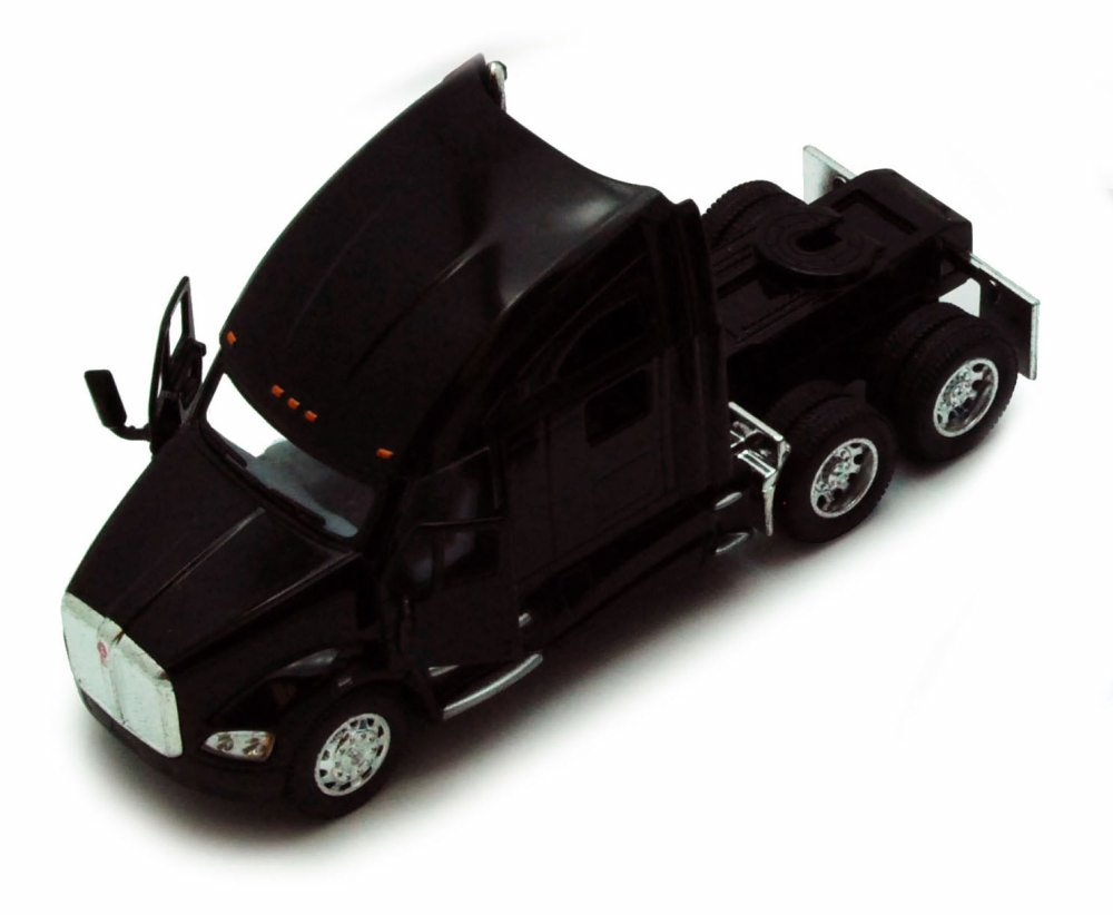 Kenworth T700 Tractor, Black Kinsmart 5357D 1 68 scale Diecast Model Toy Car (Brand but... by Kinsmart