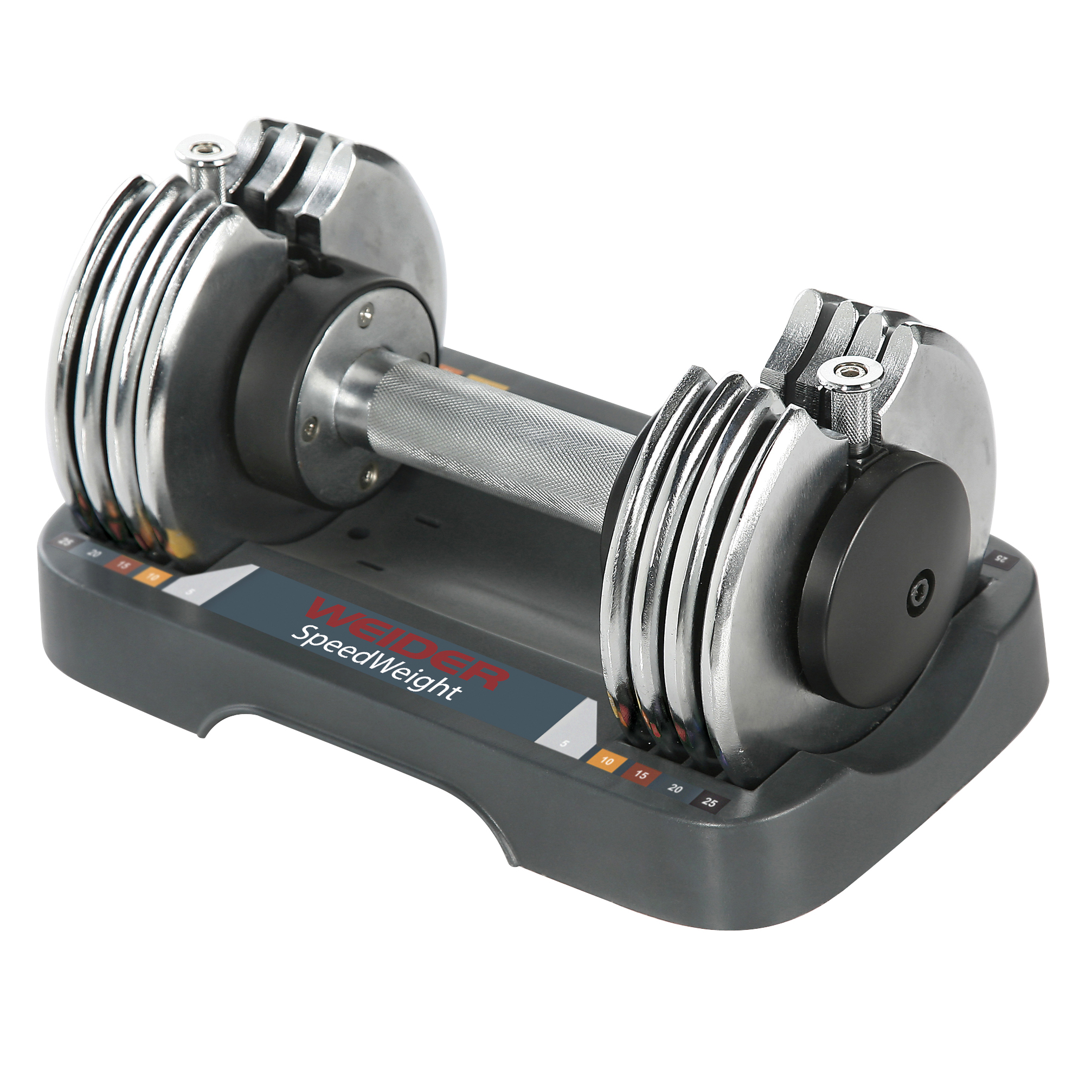 Weider Adjustable Dumbbell 25lbs, Single