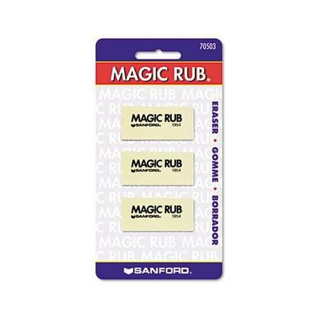 Magic Rub Art Eraser Vinyl 3 Pack Walmart Com