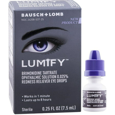 2 Pack - Lumify Redness Reliever Eye Drops 0.25 oz
