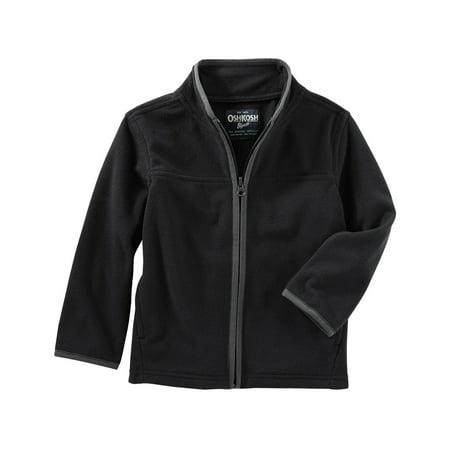 OshKosh B'gosh Little Boys' Full-Zip B'gosh Fleece Cozies, 5-Kids (Oshkosh Vest)