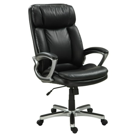 Serta Executive Big & Tall PureSoft Office Chair, Smooth