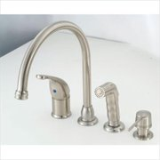 AMER BRASS SL801GSNWS Single Lever Nickel Kitchen Faucet