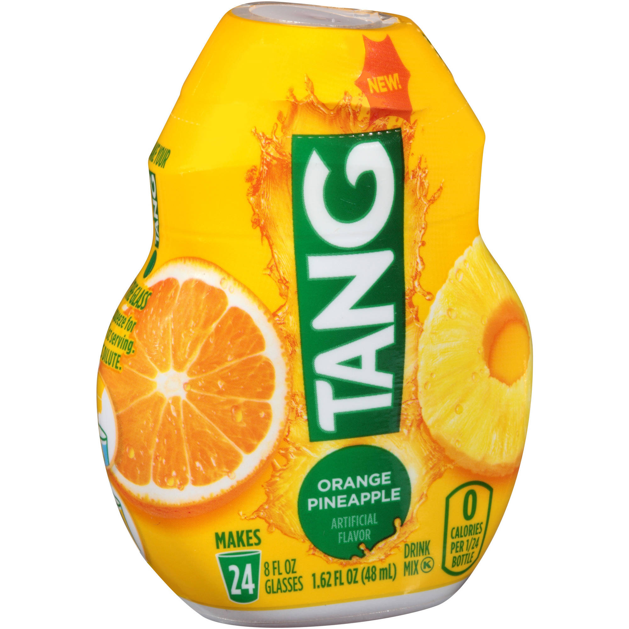 Tang Orange Pineapple Liquid Drink Mix 1.62 fl. oz. Bottle