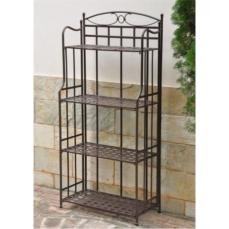 Product Image Bowery Hill Iron Patio Bakeru0027s Rack