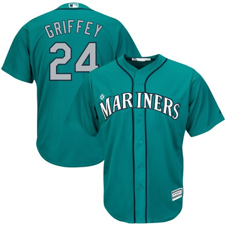 Seattle Mariners Authentic Alternate Jersey (Ken Griffey Jr. Seattle Mariners Majestic Big & Tall Alternate Cool Base Replica Player Jersey - Green)